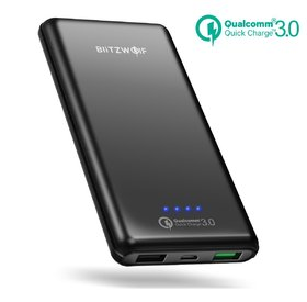 BlitzWolf 10000mAh, Quick Charge 3.0