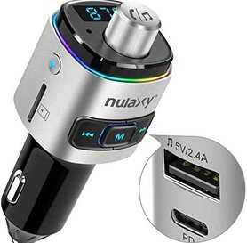 Nulaxy NX09 Bluetooth FM Transmitter-Type C PD