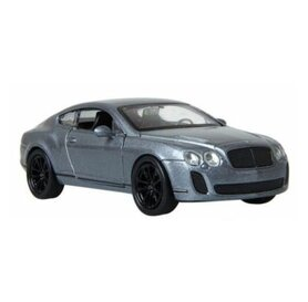 Метален модел на BENTLEY CONTINENTAL SUPERSPORTS - сив цвят